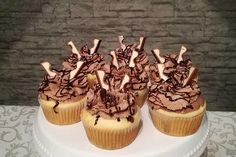 Children's chocolate muffins by pinktroublebee Muffin Nutella, Nutella Muffins, Chocolate Muffins, Easy Cookie Recipes, Muffin Recipes, Cake Recipes, Drink Recipes, Rainbow Muffins, Baking With Kids