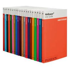 Even those who don't read Wallpaper magazine or belong to its target audience can find room in a carry-on bag for its new travel guides. Milan Wallpaper, Neenah Paper, Rainbow Palette, Best Travel Guides, Wallpaper Magazine, Book Binding, Guide Book, Trip Planning, Gift Guide