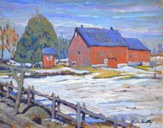 Garth Armstrong - Fenelon Falls 8 x 10 Canadian Painters, Custom Framing, Oil, Fine Art, Gallery, Painting, Roof Rack, Painting Art, Paintings