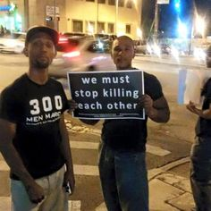 As a Black woman,  prove to me that Black lives matter, it starts when we as a people stop killing each other!!! If we don't care about each other how do expect others to care!! WAKE UP