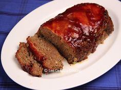 Izetta's Southern Cooking: Meatloaf with Bourbon-Maple Glaze