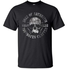 Sons Of Arthritis t-shirt men Biker Motorcycle Summer funny Gift casual printed t shirt US plus size s-3xl