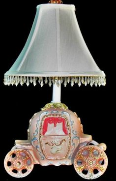 Cinderella Carriage Lamp by whimsicalcollections on Etsy, $110.00