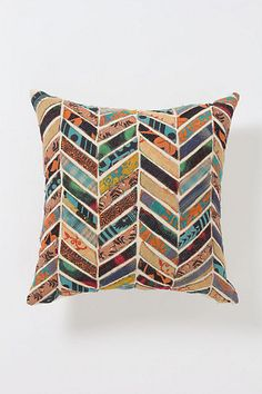Orimono Pillow, Flower #anthropologie