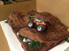 CakeCreated: Monster Truck Cake