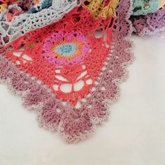 rawrustic crochet square motif