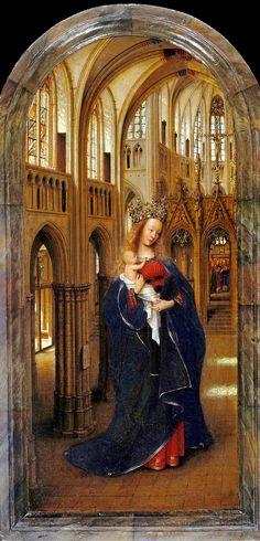 Ян ван Эйк - Мадонна в церкви, 1438