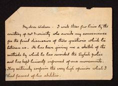 """Part of Holmes' """"suicide note"""".  This is the original ACD manuscript.    #sherlockholmes #thefinalproblem"""