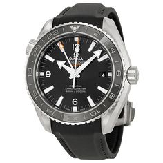 Omega Planet Ocean Black Dial Black Rubber Men's Watch 232.32.44.22.01.001 - Omega - Shop Watches by Brand - Jomashop