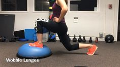 In order to achieve knee pain relief, it's important to challenge balance, strengthen in different directions, and work on glute/quad strength! Knee Strengthening Exercises, Quad Exercises, Weight Loss Workout Plan, Weight Loss Challenge, How To Strengthen Knees, Knee Pain Relief, Strength Workout, Strength Training, Physical Therapy