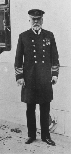 To mark Capt. E.J. Smith's 43 years at sea, White Star gave its retiring top skipper a farewell gift: command of Titanic's first crossing to New York.