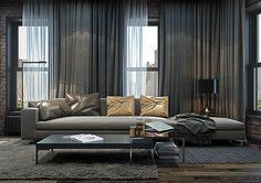 NYC_Brooklyn_apartment on Behance