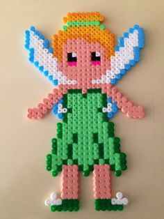 Tinker bell hama beads by Blanca