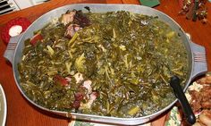 Try this recipe for Crockpot Pot Likker Greens on Foodgeeks.com