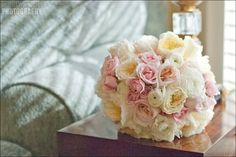 Alyson and Todd - Details Weddings & Events - blush and ivory bouquet