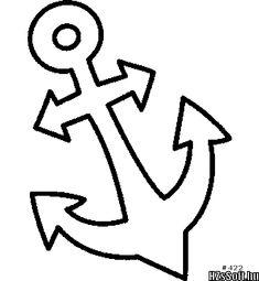 Ancla De Los Barcos Dibujalia Dibujos Para Colorear