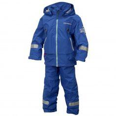 Didriksons' Pirin Kids Set - Pond Blue. Great waterproofs for little sailors