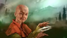 Cool realistic depictions of the Gaang (and Azula).
