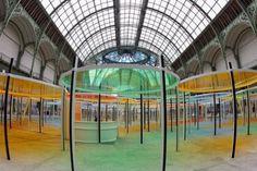 Daniel Buren Daniel Buren, Basketball Court, Sports, Art, Eccentric, Hs Sports, Art Background, Kunst, Sport