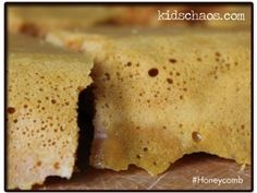 Honeycomb Recipe with Golden Syrup - Kids Chaos