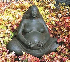 Birth Mother - what a sweet present for a blessingway, birth altar, focal point.. i love her...