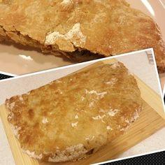 Päivi leipoo: Calzone kinkku-salamitäytteellä