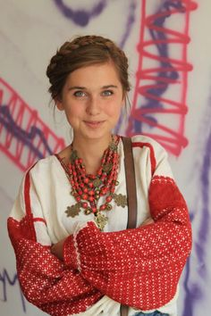 Rich embroidery, Ukraine, from Iryna