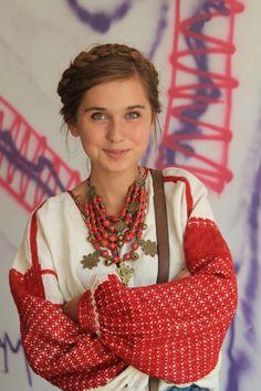 Rich embroidery, Ukraine, from Iryna