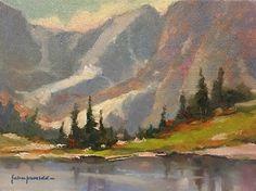 """Stillness by John P. Weiss Oil ~ 6"""" x 8"""""""