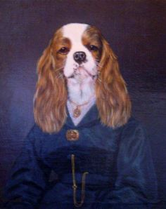 """The Art of Thierry Poncelet: """" Ancestral Dogs """" 