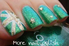 Aussie Nails - Australia Day 2014