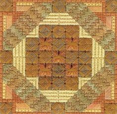 click here to view larger image of Color Delights - Copper (counted canvas chart)