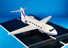 gulfstream airplane cake   Flickr - Photo Sharing!