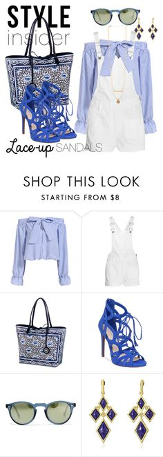 """""""chic to chic"""" by ffendi ❤ liked on Polyvore featuring Madewell, Sydney Love, Jessica Simpson, Oliver Peoples, Karen Kane, contestentry, laceupsandals and PVStyleInsiderContest"""