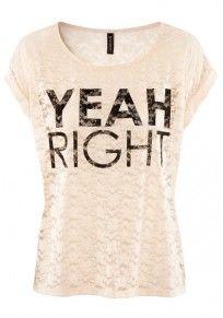 Pink Letter Print Lace Short Sleeve Cotton T-Shirt