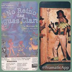 Armando Filho - ator Musical Infantil No reino das águas claras de Monteiro Lobato Personagem : Visconde de Sabugosa