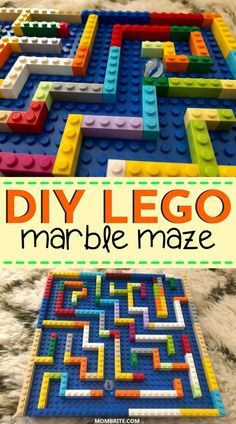 Lego For Kids, Diy For Kids, Crafts For Kids, Fun Toys For Kids, Outside Toys For Kids, Mazes For Kids, Summer Crafts, Summer Fun, Lego Projects