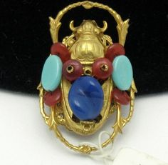 Miriam Haskell Egyptian Revival  http://stores.ebay.com/atouchofrosevintagejewels