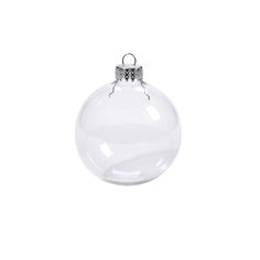 6pcs/lot Clear Glass balls Christmas baubles Ornaments Decorations Christmas tree Pendants outdoor christmas inflatables Wedding