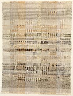 Sunny, 1965 by Anni Albers. Abstract Art. abstract