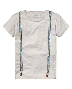 Suspender T-Shirt Scotch & soda