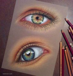 60 Beautiful and Realistic Pencil Drawings of Eyes | Read full article:…
