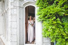 bride heading to ceremony at Lisnavagh house wedding Wedding 2017, My Favorite Image, Wild Things, I Am Awesome, Bride, Couples, Wedding Dresses, House, Fashion