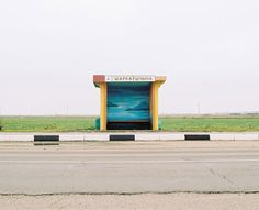 Colorful Bus Stops Across Belarus By Alexandra Soldatova