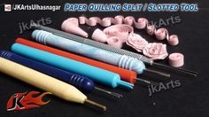 Paper Quilling Tools and How to use Quilling Tools http://youtu.be/MFny31i0pak Paper Quilling Basic Shapes and techniques Tutorial at: http://www.youtube.com...