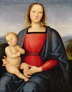 Pietro Perugino:  Madonna and Child