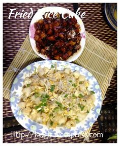 Fried rice cake - Char Kuih or Char Kuih Kak or Fried Carrot Cake (炒粿, 炒菜头粿, 炒萝卜糕, 炒粿角, 炒糕粿) #kenneth_goh   #guaishushu