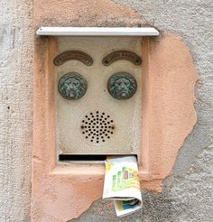 I see faces everywhere! :)