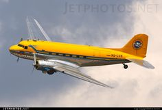 High quality photo of (CN: Vallentuna Aviation Club Douglas Skytrain by Mikhail Gorichev Civil Aviation, Aviation Art, Ww2 Aircraft, Military Aircraft, Douglas Dc3, Douglas Aircraft, Pilot, Old Planes, Aircraft Painting