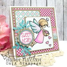 On A Stampage...: Sweetheart Fairy
